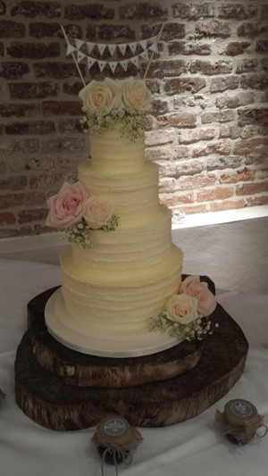 Rustic Lined Buttercream