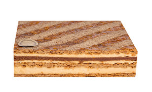 Mille-feuille toffee Cake - PRE ORDER ONE WEEK IN ADVANCE. 4 people serving - €28 . 6 people serving - €40. 8 people serving - €55. 10 people serving - €75