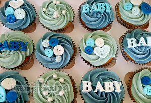 Baby shower  baby shower cake  baby shower cupcakes  cupcakes  cake  pink  blue  dublin  swords  kinsealy  malahide  baby  buttons   %282%29