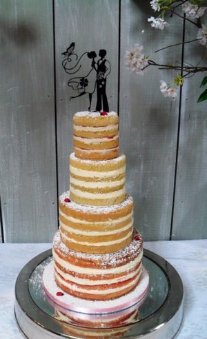 Ballymagarvey village wedding wedding cake wedding cake dublin naked wedding cake rustic wedding c
