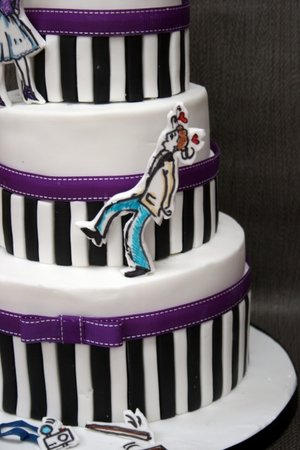 Paris themed cake paris themed birthday cake paris birthday cake wedding cake paris wedding cake paris themed wedding cake caricature cake stripey cake anniversary cake cakes dublin 4