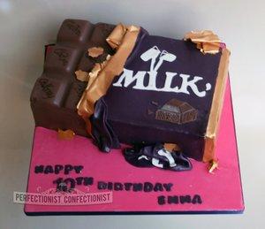 Cadbury Birthday Cake Dairy Milk Kids Cakes Swords Malahide Kinsealy