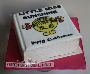 Little Miss Sunshine Cake Mr Men Birthday Celebration Dublin Novelty Swords Bespoke