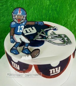 New york giants american football birthday cake odell beckham jr birthday cake malahide kinsealy swords 3