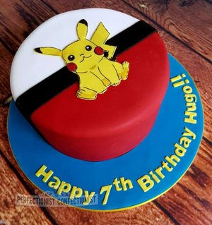 Pikachu cake pokemon birthday cake malahide kinsealy swords boys birthday cake girls birthday cake 4