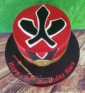 Birthday cake power rangers super samurai fire power ranger dublin swords malahide kinsealy 8