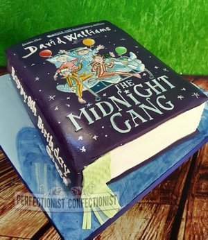 Book cake edible david walliams birthday the midnight gang novelty celebration dublin swords malahide kinsealy 2
