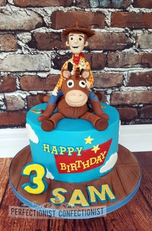 Toy story woody bullseye cake toppers birthday cake 4th birthday dublin swords malahide portmarnock kinsealy novelty celebration 2