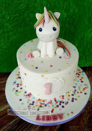 Unicorn first 1st birthday cake dublin celebration novelty malahide kinsealy gorgeous homemade sprinkles pastel 1
