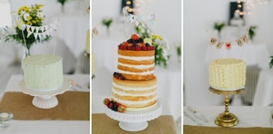 Dessert Table Wedding, Prices start at €90 for one cake.