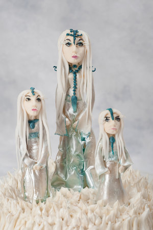 Edible Ice Maidens