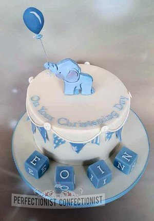 Elephant  christening cake  cake  naming day   raspberry  cake topper  balloon  blocks  swords  malahide  kinsealy  dublin novelty  celebration  %285%29