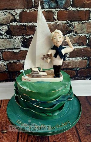 Bere island  birthday cake  sailing cake  novelty cake  celebration cake  yachting  chocolate biscuit  cake topper  cakes dublin  cake malahide  cake swords   %282%29
