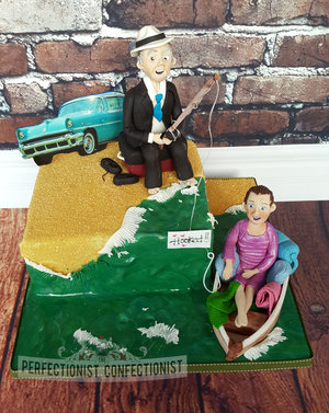 Wedding anniversry cake  cake  boat  fishing  beach  sailing  lusk  rush  celebration  novelty  swords  dublin cake  kinsealy cake  malahide cake   %28 %2811%29