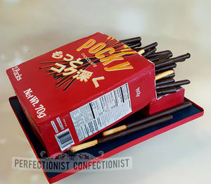 Pocky sticks  pocky sticks birthday cake  pocky cake  pocky birthday cake  international day of pocky sticks  cake dublin  cakes dublin  croke park  jcon %286%29