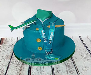 Aer lingus cake  air steward cake  congratulations cake  uniform cake  novelty cake  celebration cake  new job cake  cakes dublin  cakes malahide  cakes sword %28 %284%29