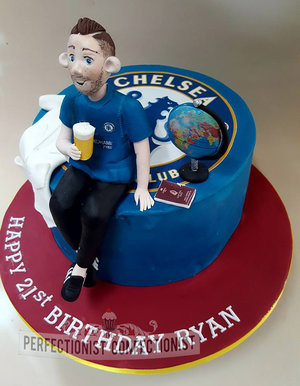 21st birthday cake  cake  novelty  celebration  travel  pint  lab coat  chelsea  dublin  swords  malahide  kinsealy  %281%29