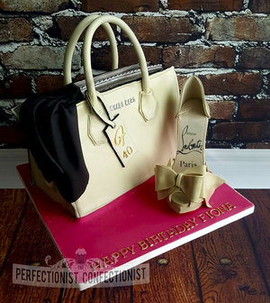 Michael kors  handbag  birthday cake  cake  40th cake  louboutin shoe  dublin  swords  malahide  kinsealy  celebration cake  novelty cake  %282%29