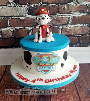 Birthday  cake  paw patrol  marshall  cake topper  novelty  celebration  swords  malahide  fingal  kinsealy  dublin  %282%29