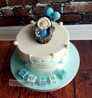 Eskimo  baby  cake  christening day  naming day  the mighty quinn  novelty  celebrtion  malahide  dublin  kinsealy  swords %282%29