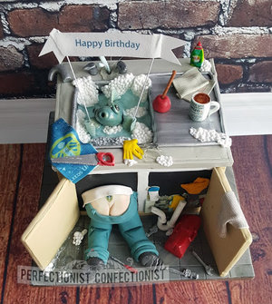 Plumber  leeds utd  tea  fishing  birthday  cake  novelty  celebration  coffee  60th  swords  malahide  kinsealy  dublin  fingal  %284%29   copy