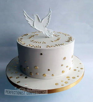 Cream  gold  confirmation cake  concifmration  cake  chocolate biscuit  malahide  swords  kinsealy  dublin  portmarnock  %283%29
