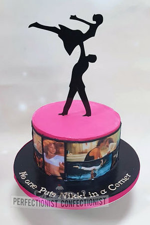 Dirty dancing birthday cake  dirty dancing  birthday cake  cake  novelty  celebration  birthday  chocolate biscuit  swords  dublin  malahide  kinsealy %282%29