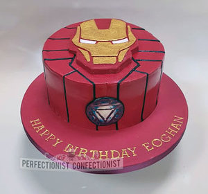 Ironman birthday cake  ironman cake  birthday cake  cake  novelty  celebration  iron man  swords  dublin  kinsealy  malahide  chocolate fudge cake  %282%29