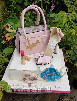 Mk bag  michael kors bag  handbag birthday cake  cake  birthday  60th  carrot  cbc  westin airport  shoe  high heel  celebration  malahide  swords  %283%29
