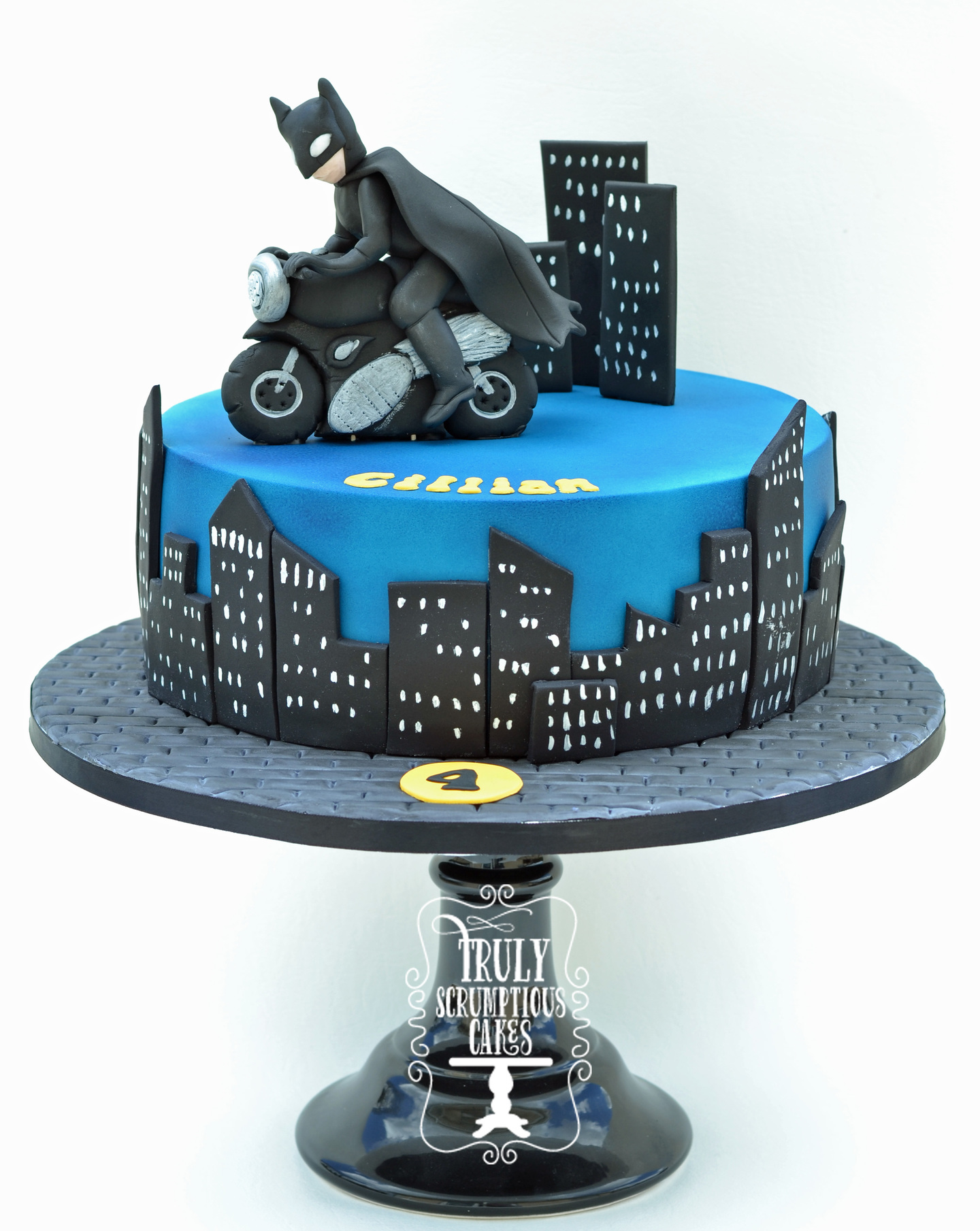 Batman On A Motorbike