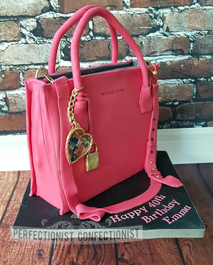 Handbag cake  designer bag cake  40th birthday cake  birthday cake  novelty  celebration  chocolate biscuit  swords  malahide  kinsealy  dublin %284%29