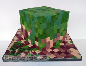 Minecraft  birthday  cake  novelty  celebration  birthday cake  swords  malahide  kinsealy  dublin  bespoke  handmade  awespme %283%29