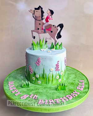 Horseriding cake  horsie birthday cake  kid  child  lemon  swords malahide  kinsealy  dublin  horse and jockey cake  celebration  novelty  birthday  fun %281 %287%29