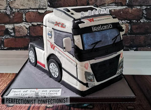 Retirement  willsboror  truck  cab  shipping  cake  celebration  airport  swords  malahide  dublin  kinsealy  trucking  volvo %281%29