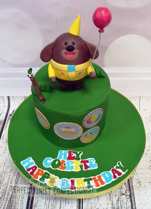 Hey duggee birthday cake  birthday cake  cake  hey duggee  dublin  cooklock  swords  malahide  kinsealy  novelty  celebration  zesty lemon  %282%29