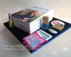 Teacher  michael kors make up  under the hawthorn tree  30th birthday  birthday cake  cake  novelty  handmade  books  swords  siam thai malahide   %281%29