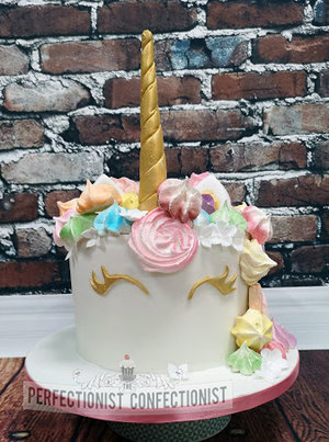 Unicorn cake  meringue  rainbow  christening cake  naming day cake  cake  unicorn  pastel  dublin  swords  malahide  kinsealy  tallaght %285%29