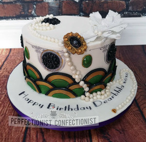 Art deco  1920s  birthday cake  cake  dublin  swords  malahide  kinsealy  %282%29