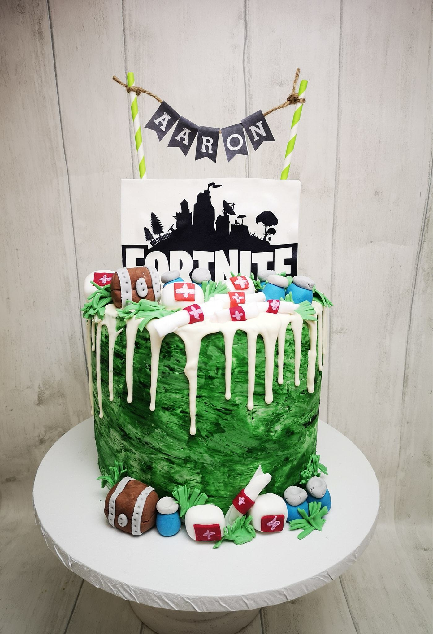 Kid S Birthday Cakes Paw Patrol Minecraft Fortnite Cake Ideas