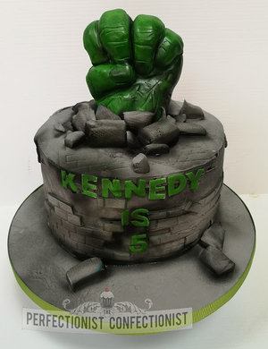 Hulk  fist  smash  cake  incredible hulk  birthday  cake  birthday cake  dublin  swords. malahide  kinselay  celebration  cake maker  novelty  %282%29