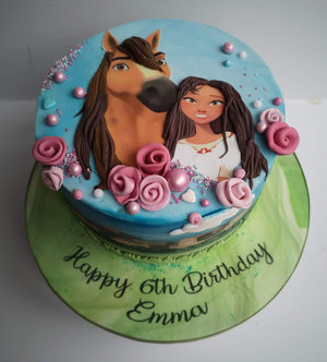 Spirit  riding free  horse  cake  birthday novelty  celebration  dublin  cake maker  spirit riding free  swords  malahide  kinsealy  bespoke %281%29