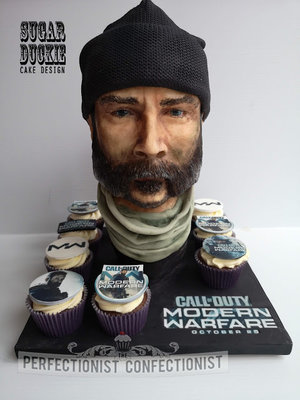 Cod  call of duty  modern warfare  cupcakes  captain price cake  sugar duckie  perfectionist confectionist  corporate  dublin  swords  malahide  cake maker  %282%29