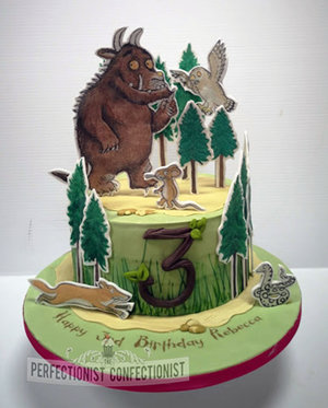 Gruffalo  birthday  cake  dublin  swords  malahide  kinsealy  celebration  novelty  cake maker  dublin %281%29