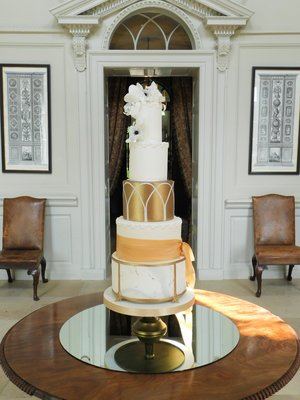 Gloster Gold Wedding Cake