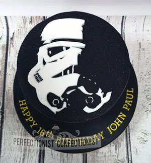 Star wars  storm trooper  stormtrooper  birthday cake  birthday  cake  dublin  cake maker  swords  malahide  kinsealy. novelty  celebration  party %283%29