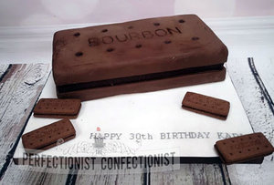 Bourbon biscuit cake  chocolate biscuit  cake  maker  dublin  malahide  swords  kinsealy  bourbon  novelty  celbration  birthday   %283%29