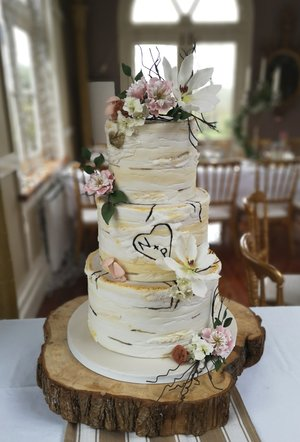Birch tree cake  ballinacurra house