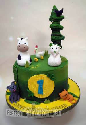 Farm  animal  cake  birthday  crow  cow  goat  hen  cat  dog  cake toppers  dublin  swords  malahide  kinsealy  first  birthday cake  cake maker  %288%29