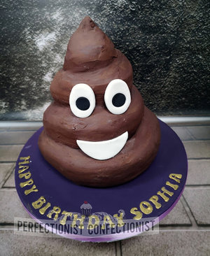 Pooj emoji cake  pile of poo emoji   birthday cake  poop  pooh  poo  chocolate cake  birthday  celebration  novelty  dublin  swords  malahide  kinsealy%285%29