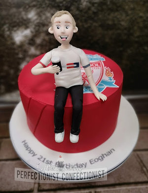 Personalised  cake  topper  cake topper  birthday  lemon  cake  liverpool  fc  swords  malahide  kinsealy  cake maker  dublin %285%29